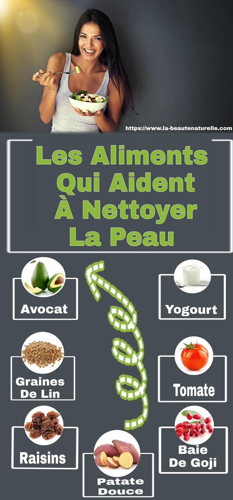 Les Aliments Qui Aident À Nettoyer La Peau
