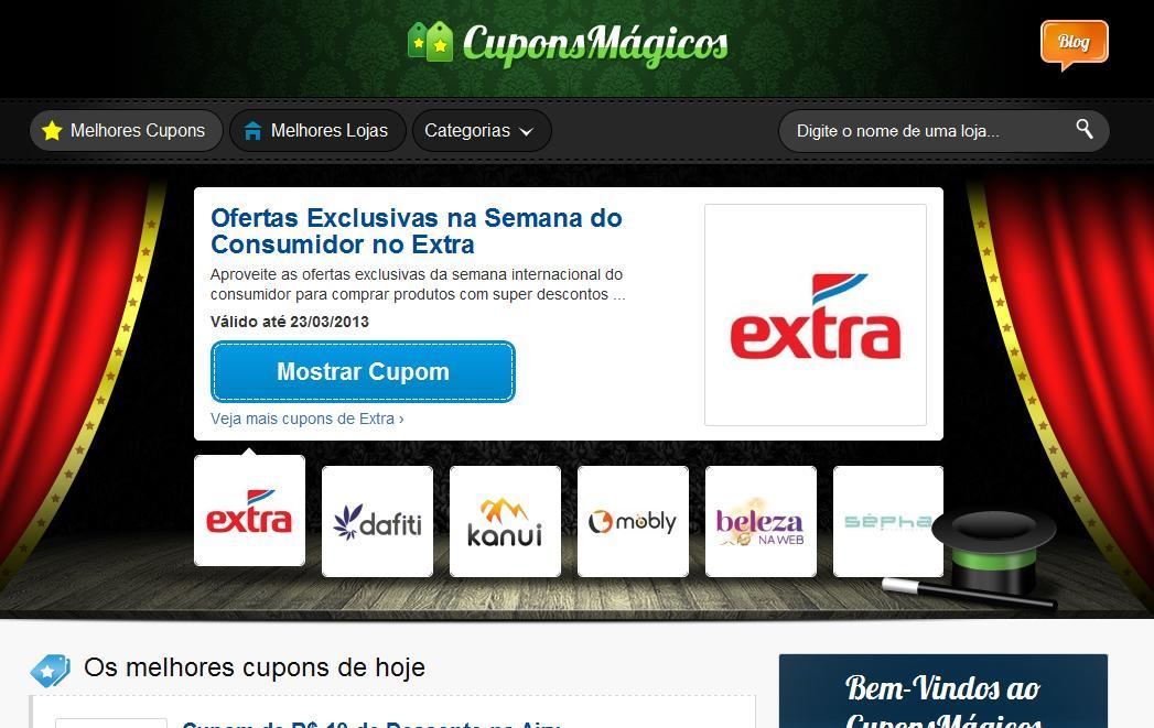 Achados e Detalhes  Cupons de desconto online  Cupons Mágicos eb857eeca4a