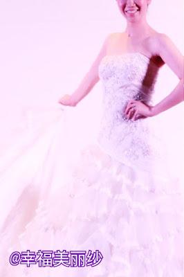 郑明析, 婚纱, 美丽