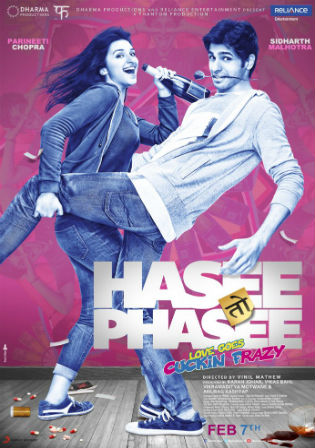Hasee Toh Phasee 2014 DVDRip 400MB Full Hindi Movie Download 480p Watch Online bolly4u