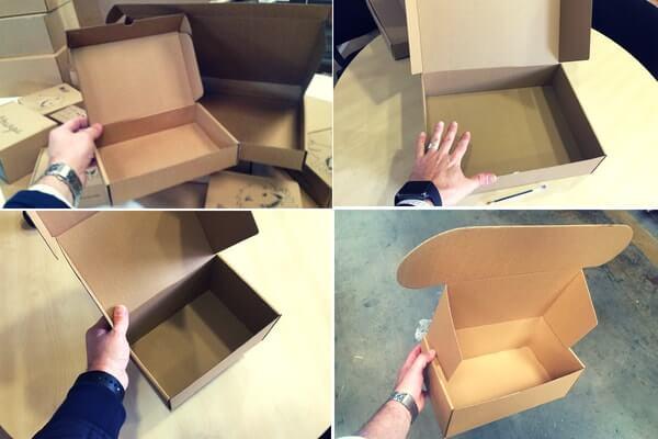 cajas para recambios de coches
