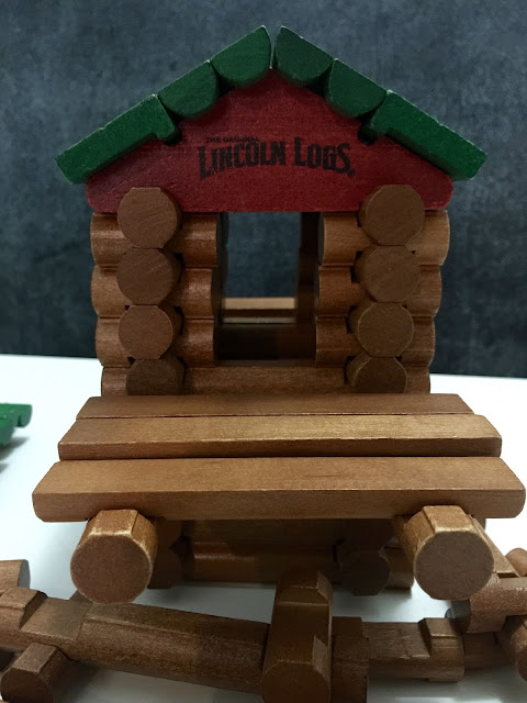 Lincoln Logs 100th Anniversary Tin by Knex Toys
