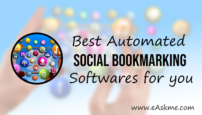 Best Free Automated Social Bookmarking Software in 2019