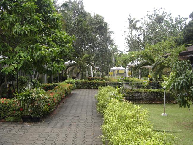 Jardines del templo