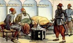 Jelenet a Rabszolgavadászok című könyvből