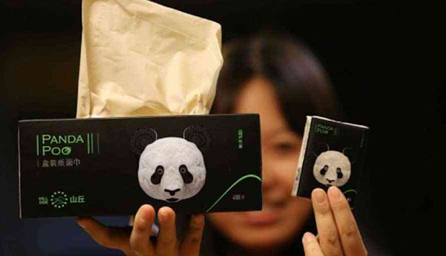 Tisu Termahal di Dunia Dibuat dari Kotoran Panda