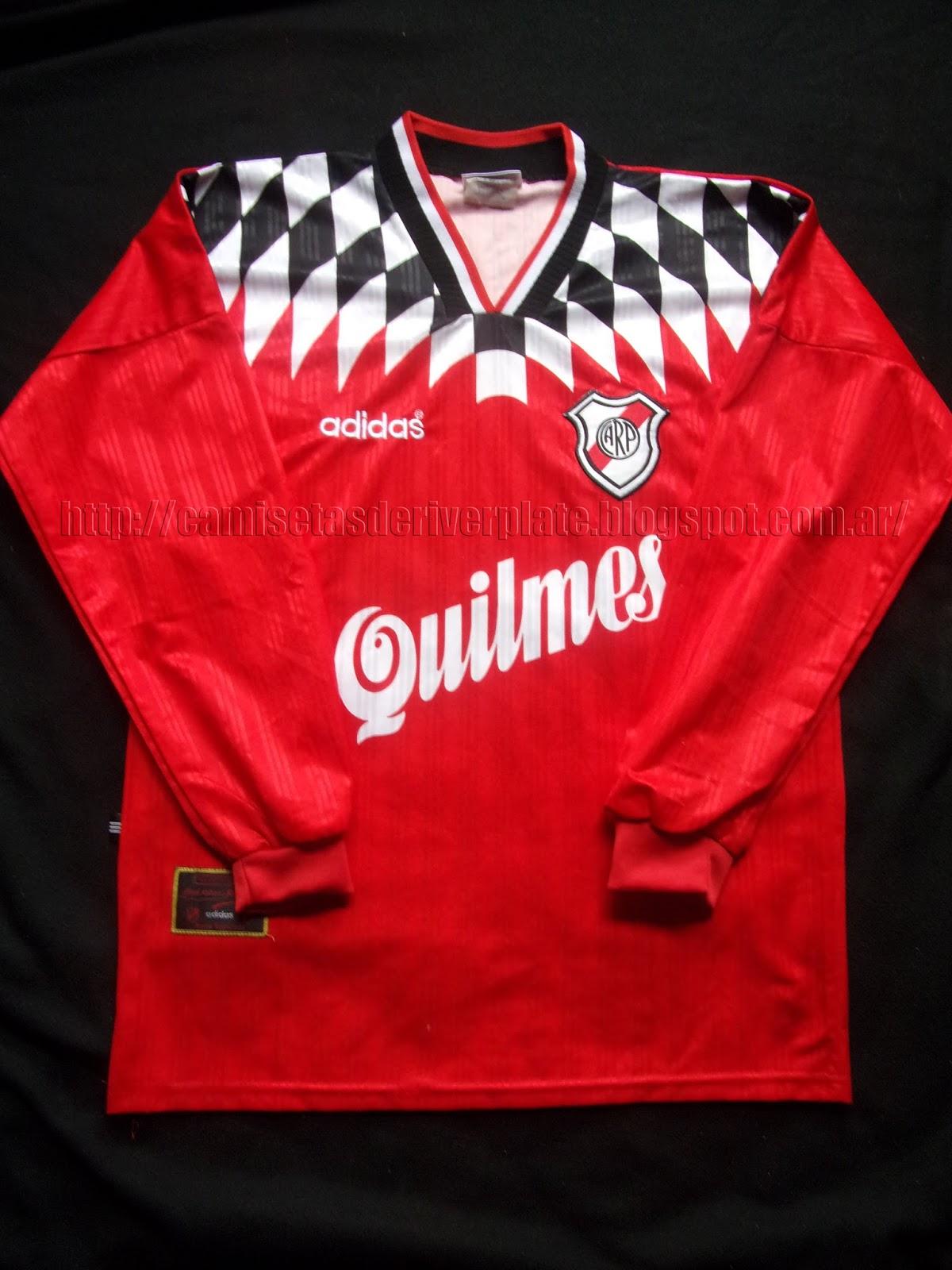gran venta grandes ofertas muy genial Camisetas de River Plate: Camiseta River Suplente 1996