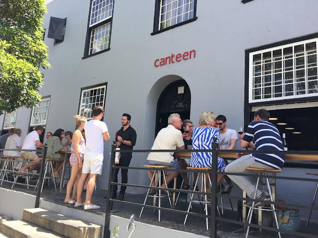 Bree Street capetown Canteen