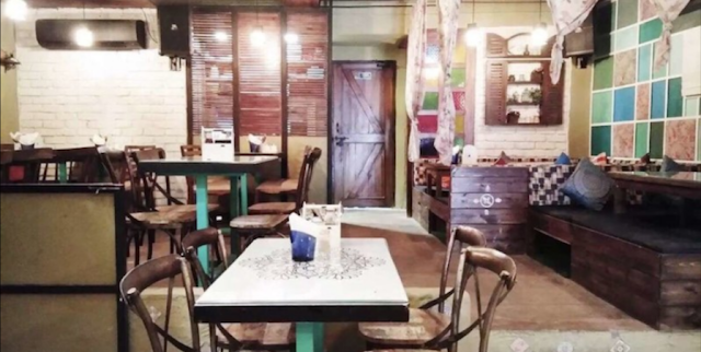 Wood Box Cafe, Hudson Lane, Gtb Nagar, Delhi Review