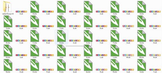 100 Vetores Pocoyo Para CorelDraw Grátis - 100 CDR X3 e 100 X6 + 100 CMX e + letras de A a Z vetorizadas
