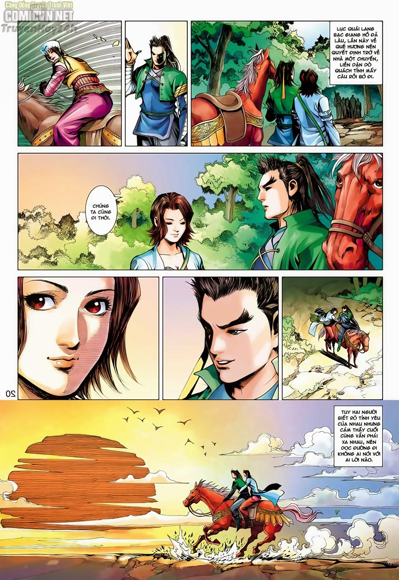 Anh Hùng Xạ Điêu anh hùng xạ đêu chap 65: cái bang tân chủ trang 20