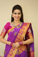 Anchor Manjoosha in Beautiful Kanjiwaram Saree at At Sankarabharanam Awards 2017 ~  Exclusive 073.JPG