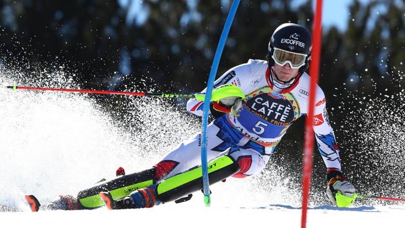 Clement Noel slalom - Andorra