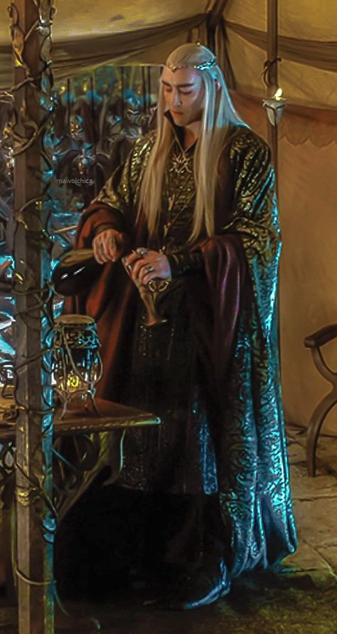 Thranduil in The Hobbit: Battle of the Five Armies