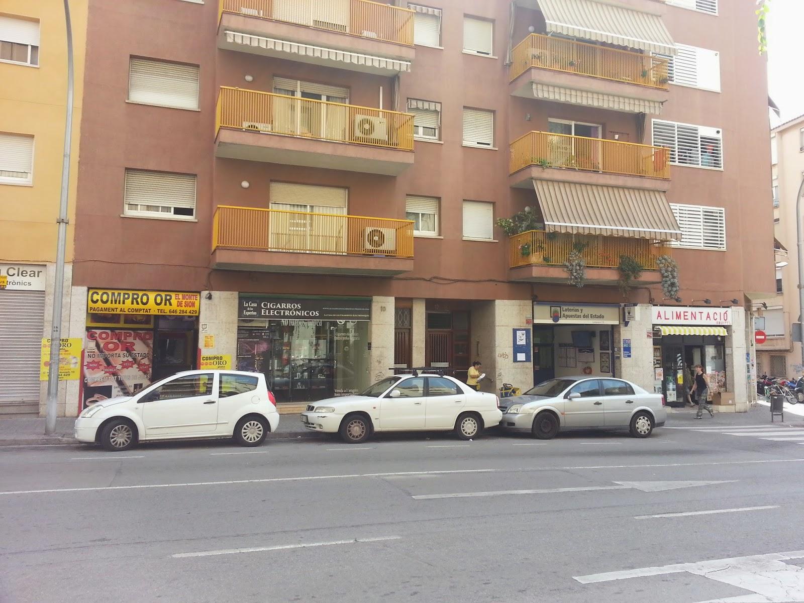 Tienda cigarros electrónicos de Mataró ronda O'donell