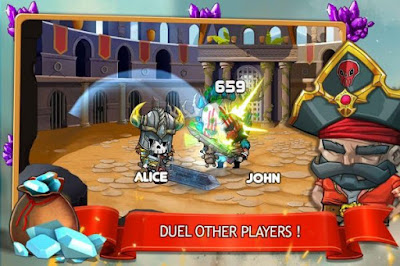 Download Tiny Gladiators Apk v1.1.1 Mod Update Terbaru 2017