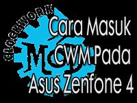 Cara Masuk CWM Pada Asus Zenfone 4