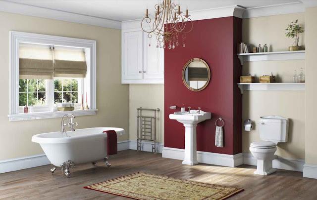 Cool Design Paint Minimalist Ideas For Bathroom Colours Images