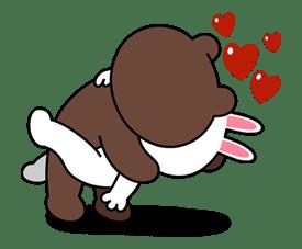 10 Gambar LINE Cony dan Brown | Gambar Top 10