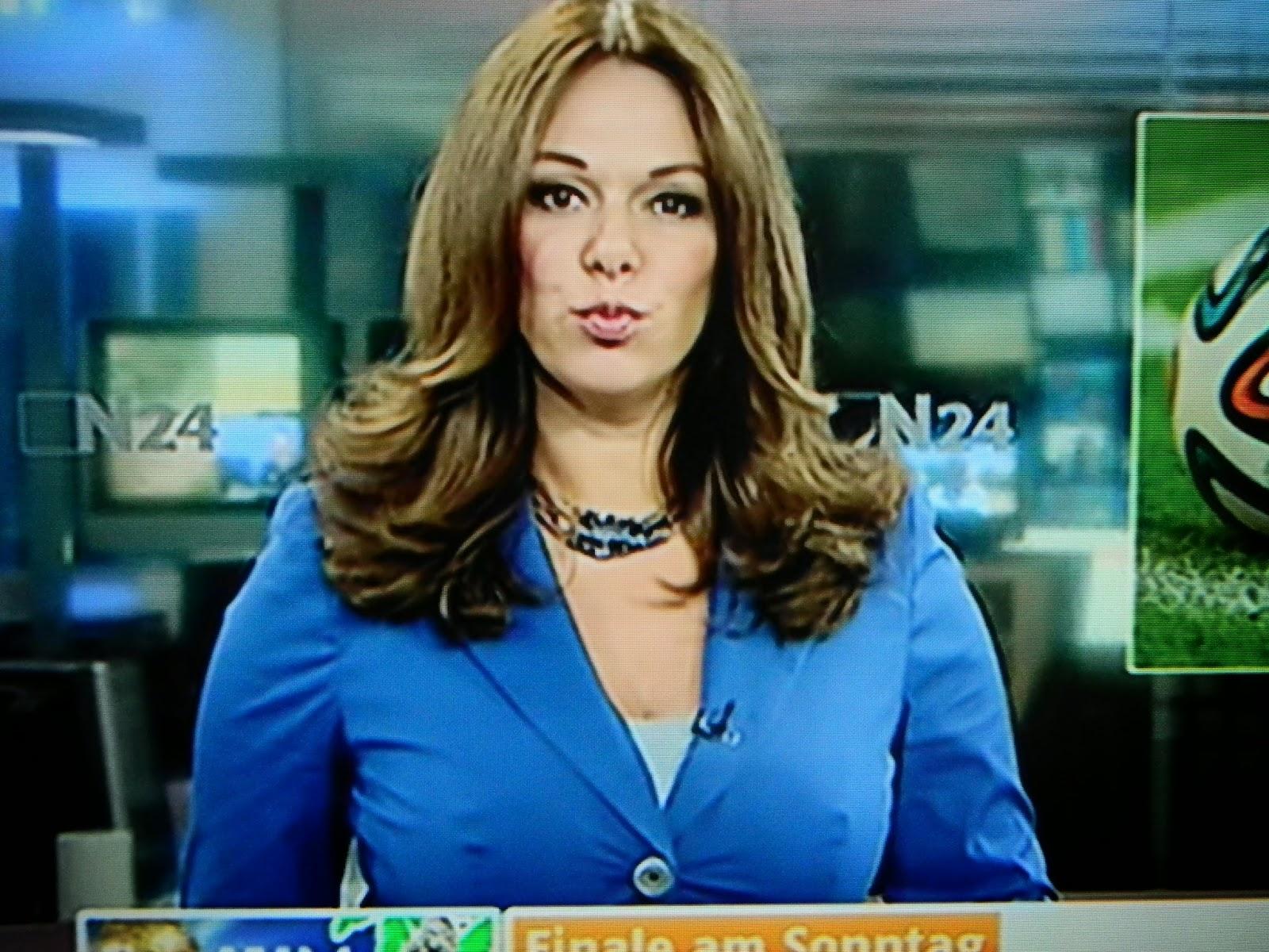 N24 Nachrichtensprecherin