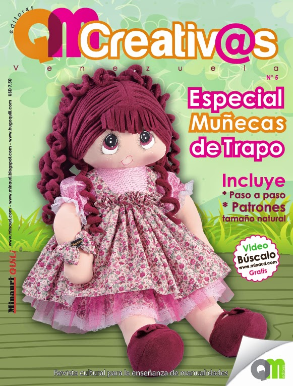 Muñecas de Trapo - Minauri Revista - QMcreativ@s - Oneida