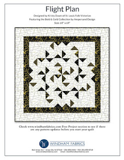 FLIGHT PLAN Quilt Pattern // Kristy Daum for Windham Fabrics