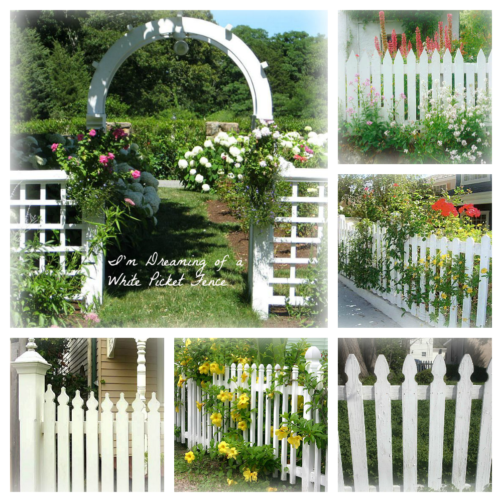 The Country Farm Home: I'm Dreaming Of A White......Picket
