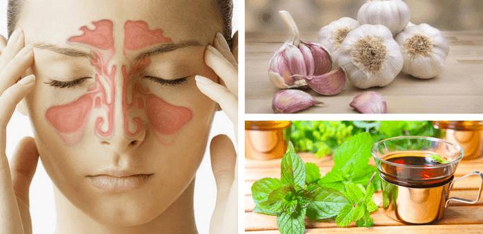 remedios para curar la sinusitis