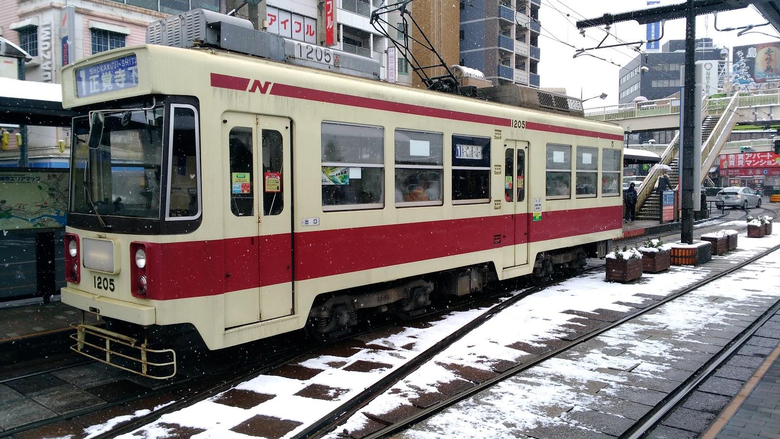 2018年1月11日長崎で雪!!