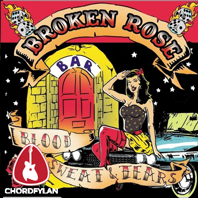 Lirik dan Chord Kunci Gitar Lonesome Devil - Broken Rose
