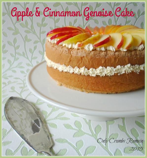 Apple & Cinnamon Genoise Cake