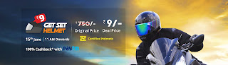 buy helmets at rs.9 from droom.in