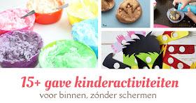kinderactiviteiten binnen