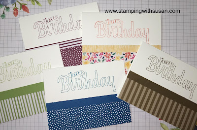 Stampin' Up!, #simplestamping, www.stampingwithsusan.com, Birthday Wishes For You