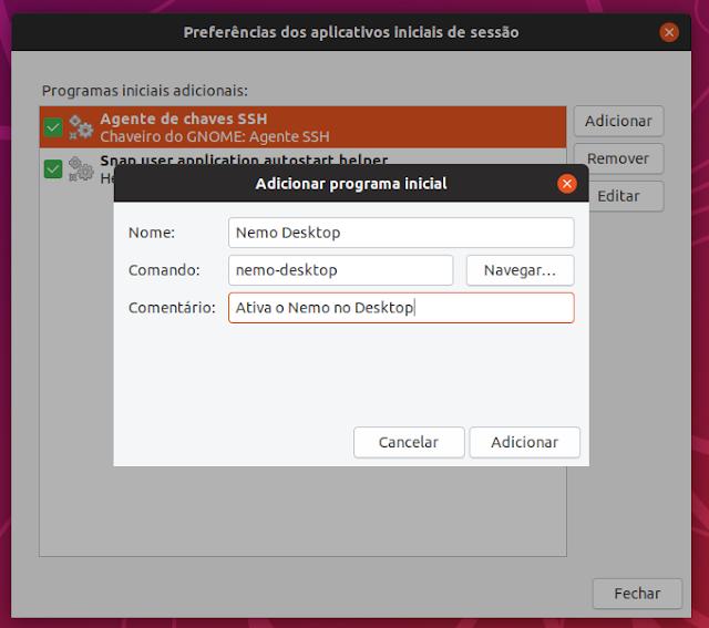 Como ativar o suporte ao Nemo no Desktop GNOME