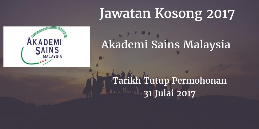 Jawatan Kosong ASM 31 Julai 2017