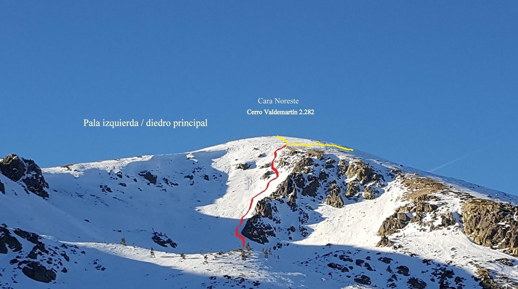 Valdemartin, iniciación alpinismo invernal