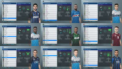 PES 2019 Big Facepack Serie A by Andrey93