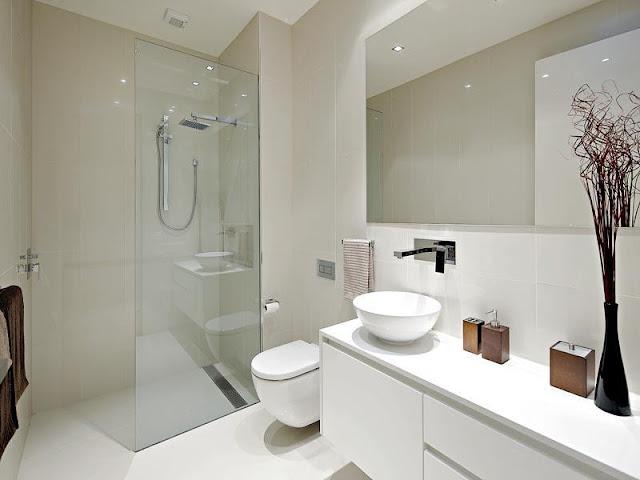 Stylish white bathroom sets Stylish white bathroom sets cute modern white bathrooms small bathroom design