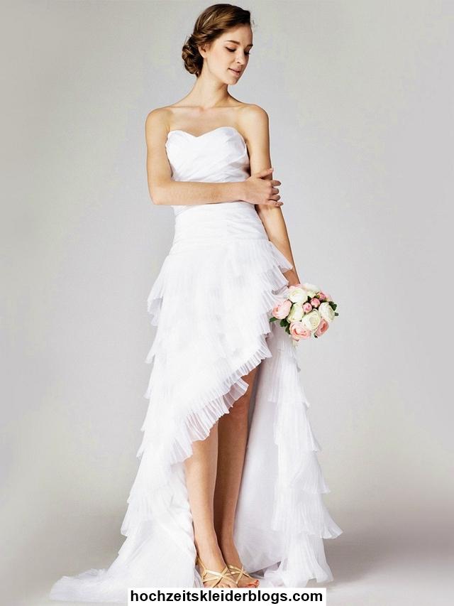 ... Kleine Frau Vorne Kurz Hinten Lang Schwarz  Hochzeitskleider Blogs
