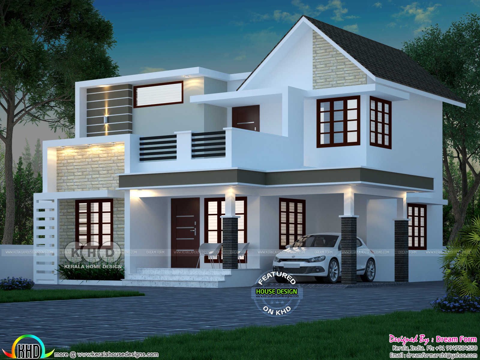 Kerala home design and floor plans