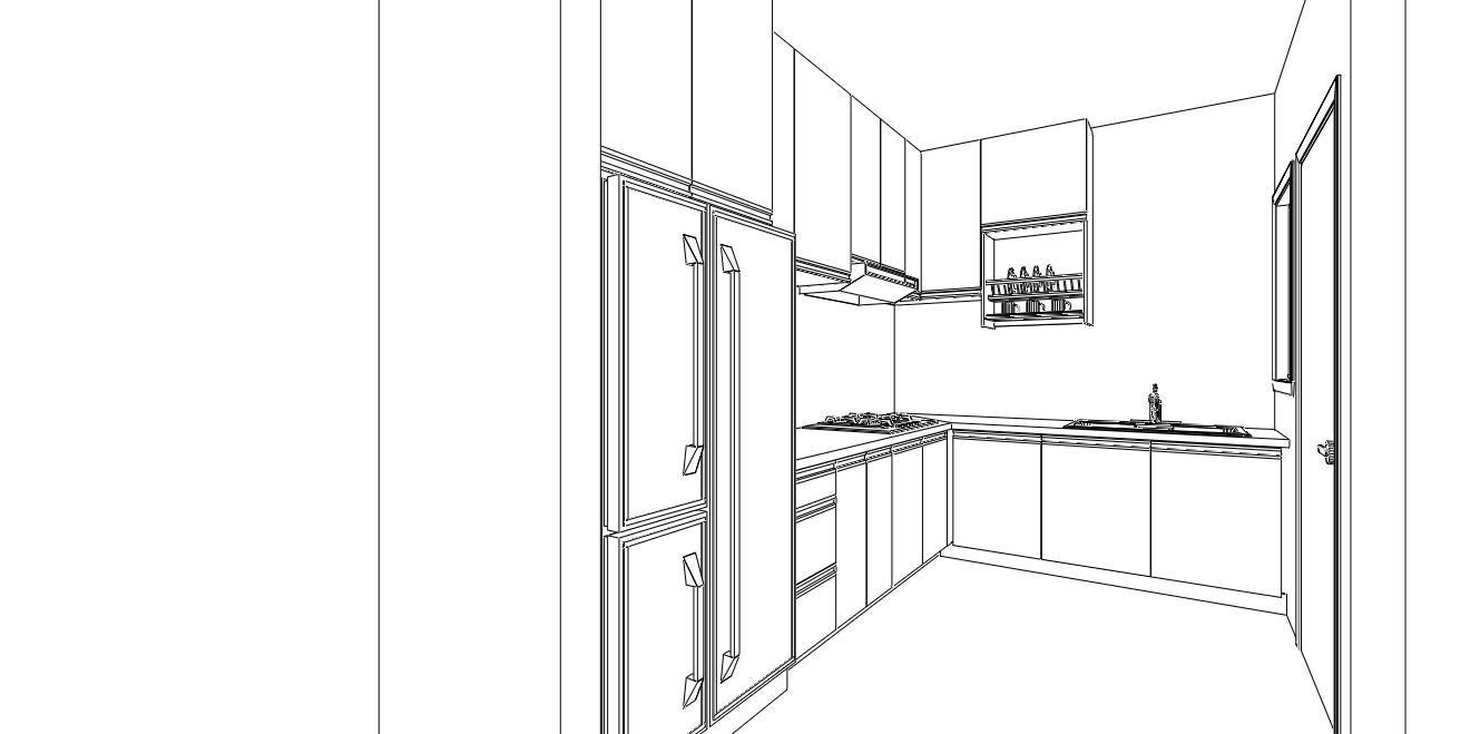 Kitchen Cabinet ppa1m selasih