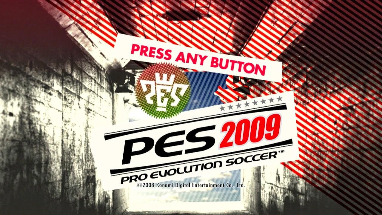 لعبة Pro Evolution Soccer 2009  كاملة