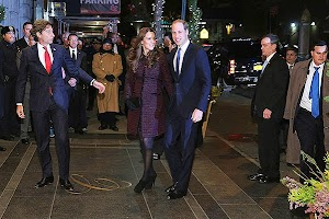 Prince William and Duchess Catherine arrived in New York