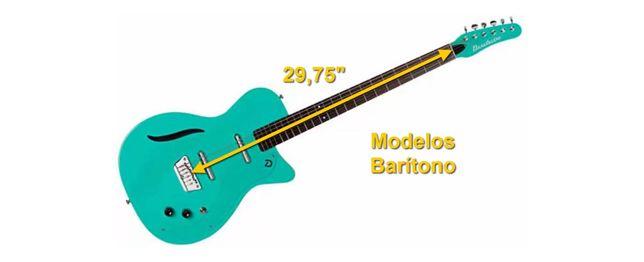 Modelos Barítono de Guitarras Danelectro