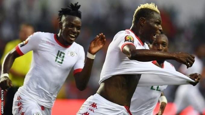 Burkina Faso beat Tunisia 2-0 to reach Afcon semi-finals