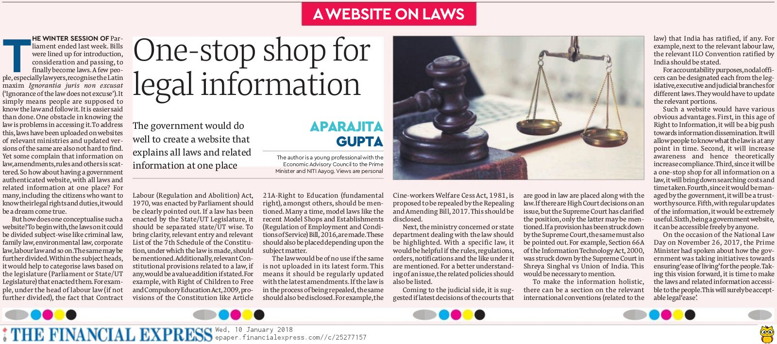 FYI@Librarian: One-stop shop for legal information