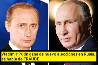 Rituales cabalísticos: Vladimir Putin (el clon) gana de nuevo elecciones en Rusia #Katecon2006