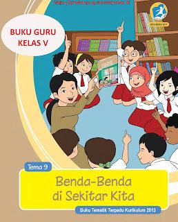 Buku Guru Tematik kelas 5 Kurikulum 2013 Revisi 2017