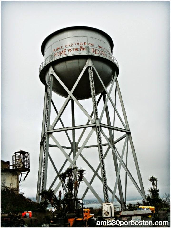 La Prisión de Alcatraz: Torre de Agua